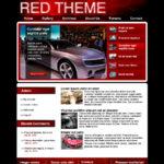 Red Drupal Theme